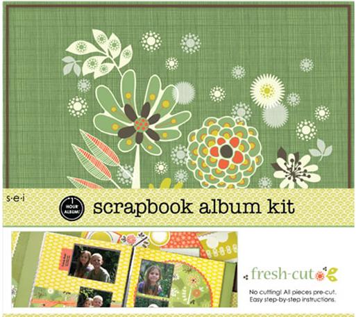 Sei Scrapbook In A Box Kit 12 X 12 Fresh Cut
