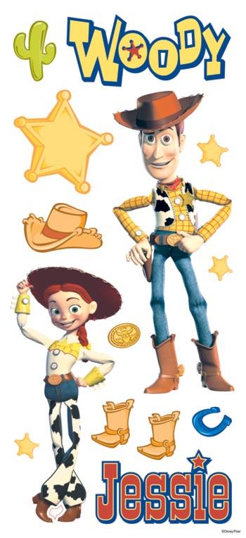 Sandylion - Disney - Toy Story - Woody and Jessie Sticker ...