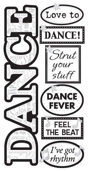 Sandylion Essentials Hand Made Stickers Dance Wedding Prom