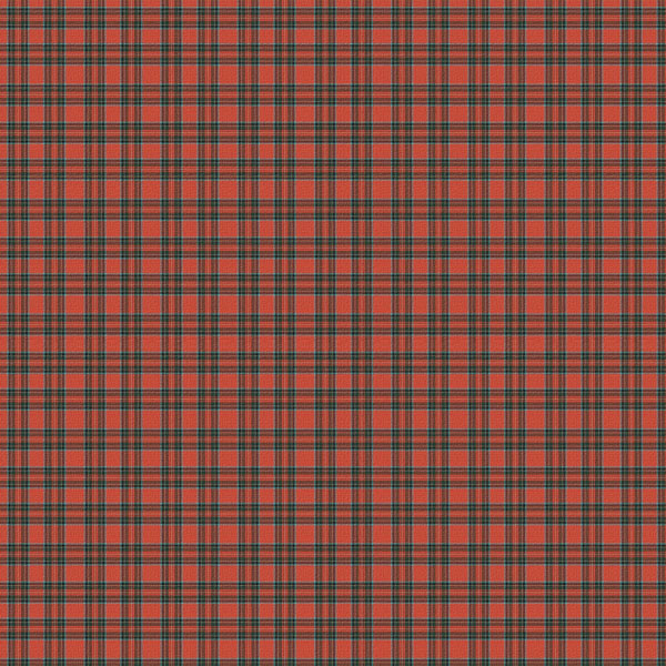 Scrapbook Customs World Collection 12 X 12 Paper Red Plaid