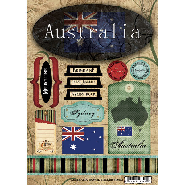 Scrapbook Customs - World Collection - Australia ...