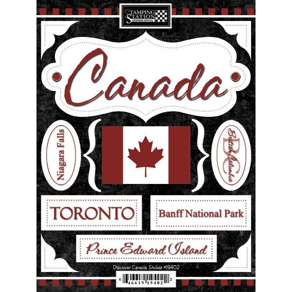 Scrapbook Customs - World Collection - Canada - Cardstock ...