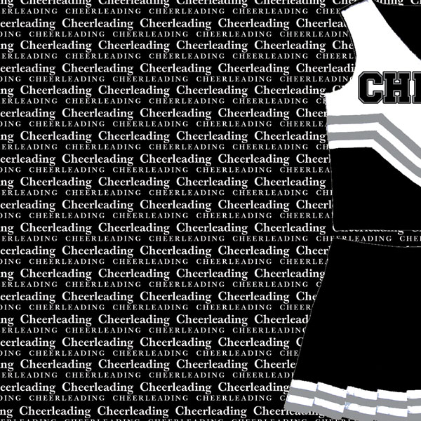 customs sports collection x paper customs sports collection 12 x 12 paper cheerleading go big left