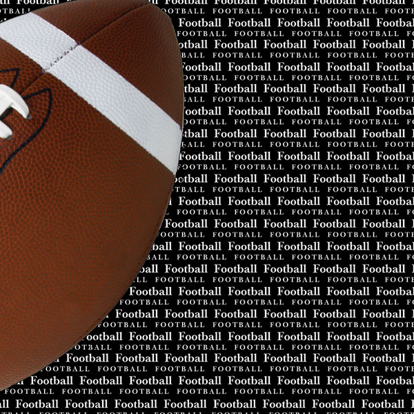 Scrapbook Customs Sports Collection 12 X 12 Paper Football Go