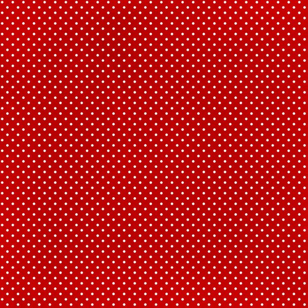 Scrapbook Customs 12 X 12 Paper Magical Red With Dots