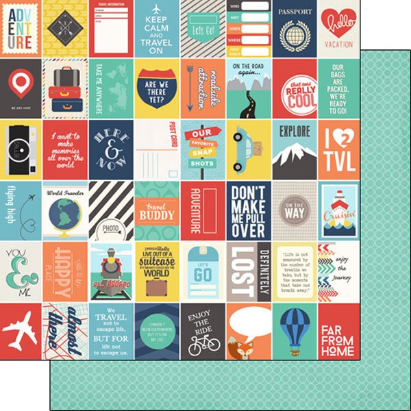scrapbook customs travel memories mini cards paper