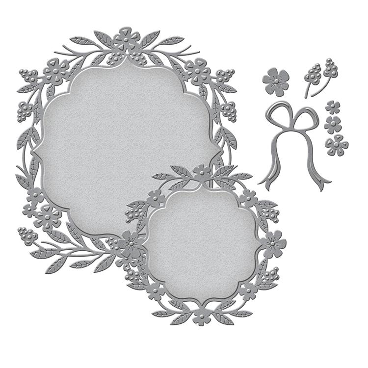 spellbinders nestabilities die labels 50 decorative accents - Decorative Accents