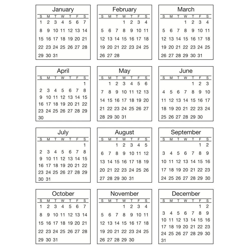 Calendar Typography Examples : Mini calendar juve cenitdelacabrera