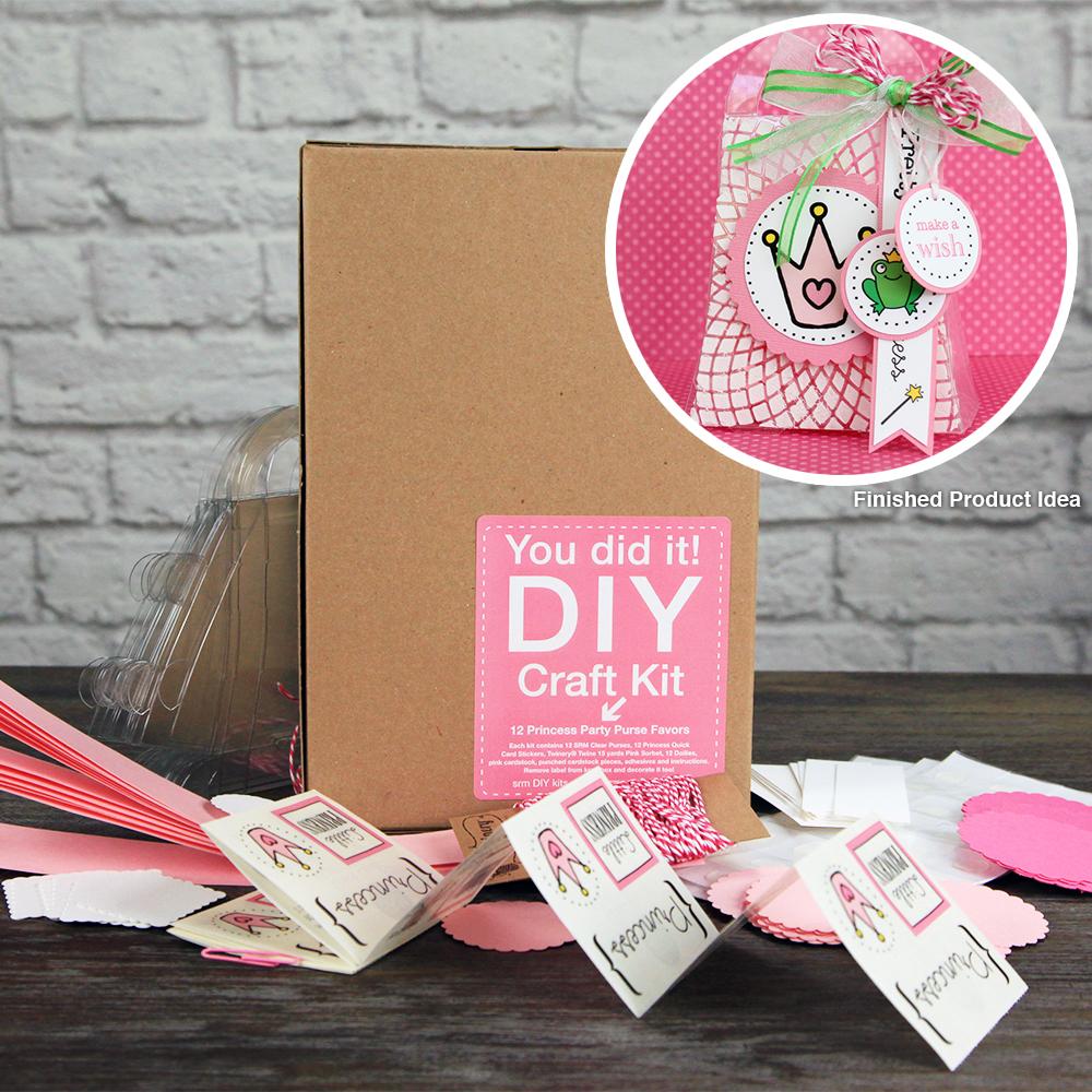 Srm Press Inc Princess Purse Party Favors Diy Craft Kit