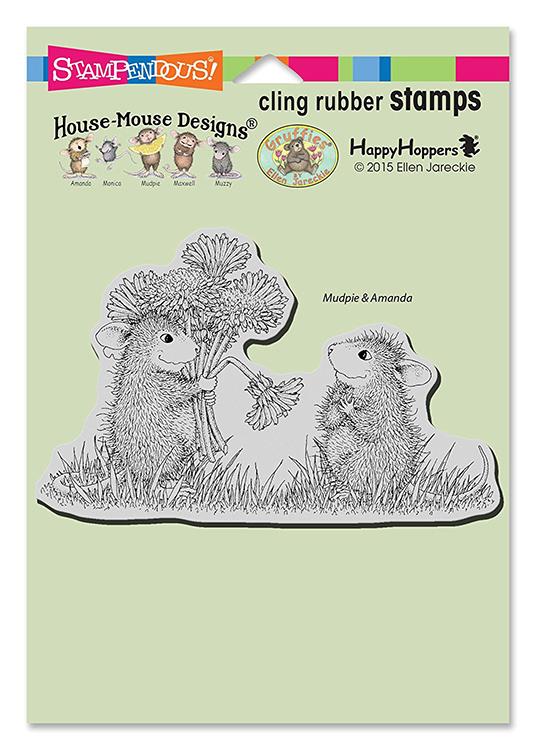 Stampendous House Mouse Designs Dandelion Bouquet Stamps