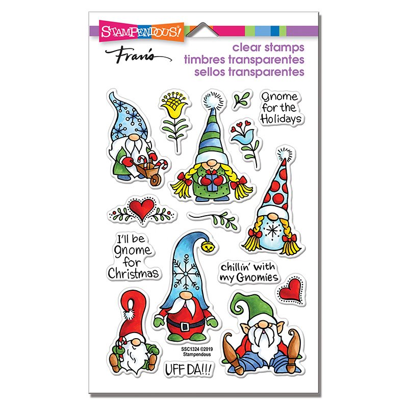 Stampendous Holiday Gnomes Stamp Set