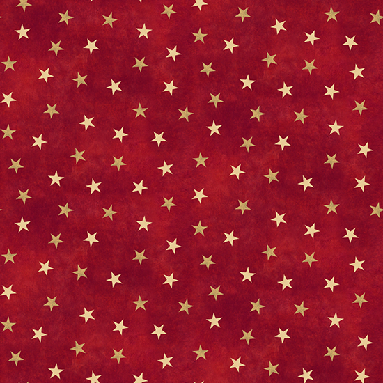 Sugartree 12 X 12 Paper Red And Gold Stars