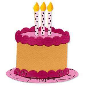 Birthday Cake Templates | Sizzix Originals Die Die Cutting Template Birthday Cake 2