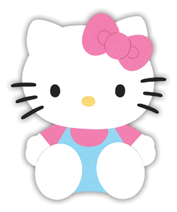 hello kitty cut out template