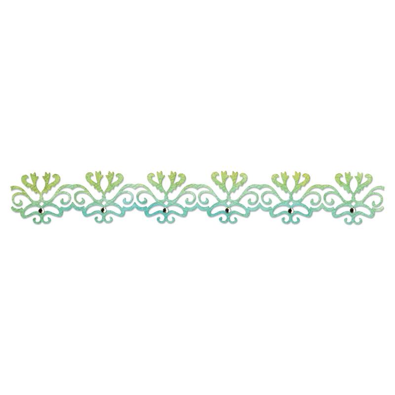 Sizzix Filigree Border Sizzlits Decorative Strip Die