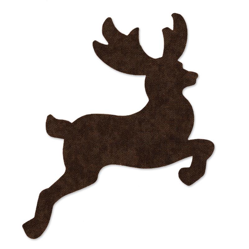 sizzix originals die christmas quilting reindeer 2 - Christmas Reindeer 2