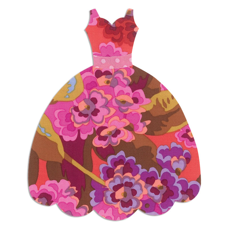 Sizzix Dress Bigz L Die Cutting Template