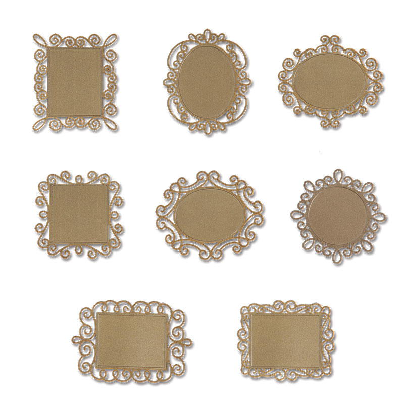 sizzix embellishments moroccan collection tiny wire frames