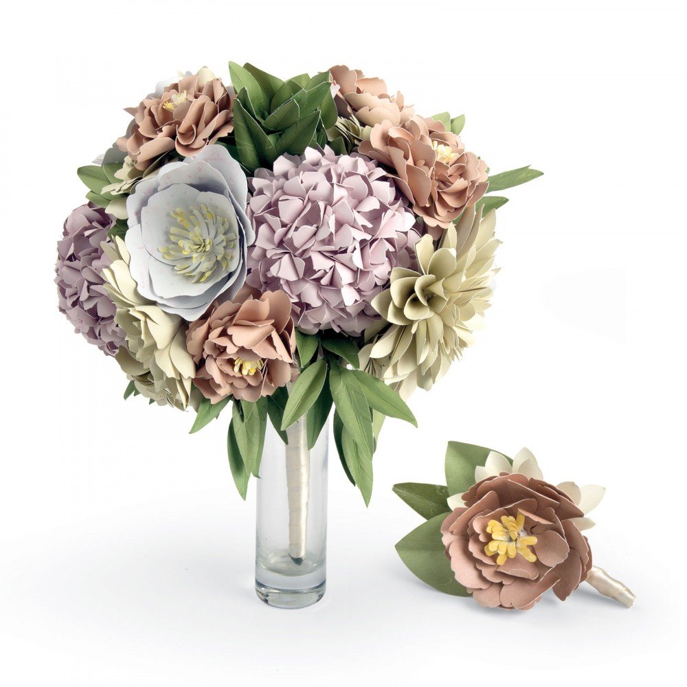 Sizzix Bouquet And Boutonniere Diy Kit