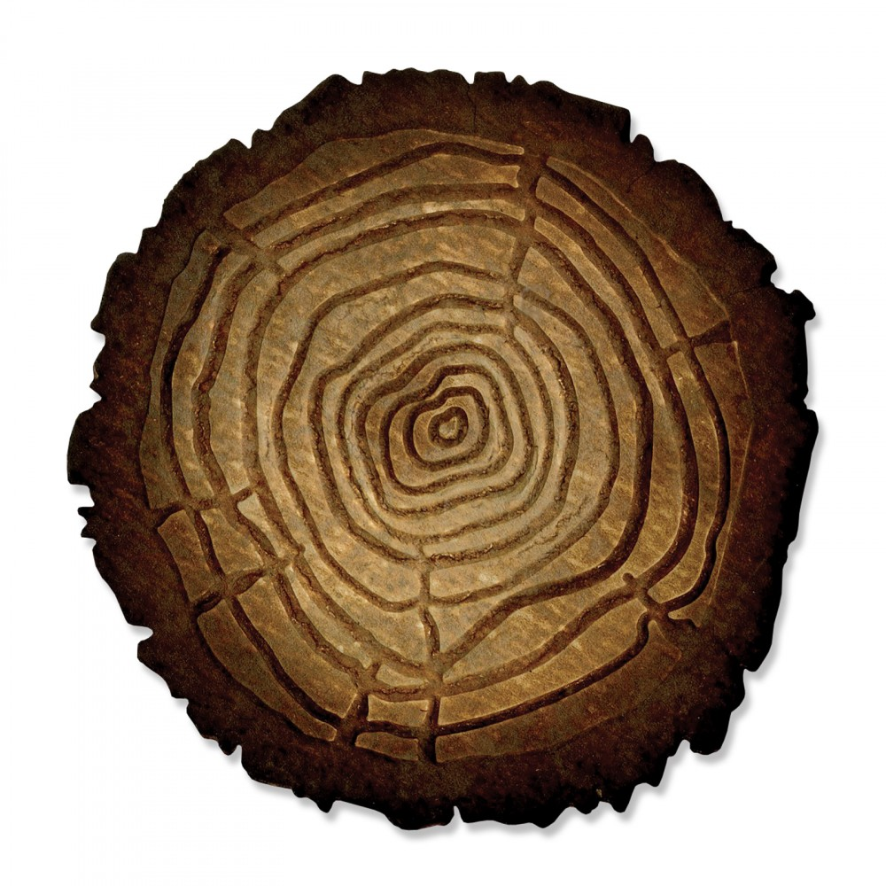 Sizzix Tim Holtz Alterations Tree Rings Bigz Die With