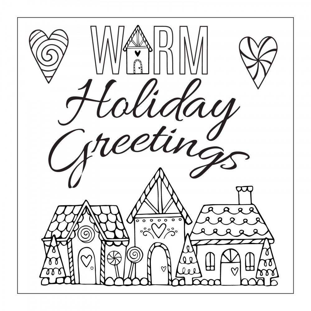 Sizzix sweet christmas warm holiday greetings framelits dies and sizzix sweet christmas collection framelits die with clear acrylic stamp set warm holiday kristyandbryce Gallery