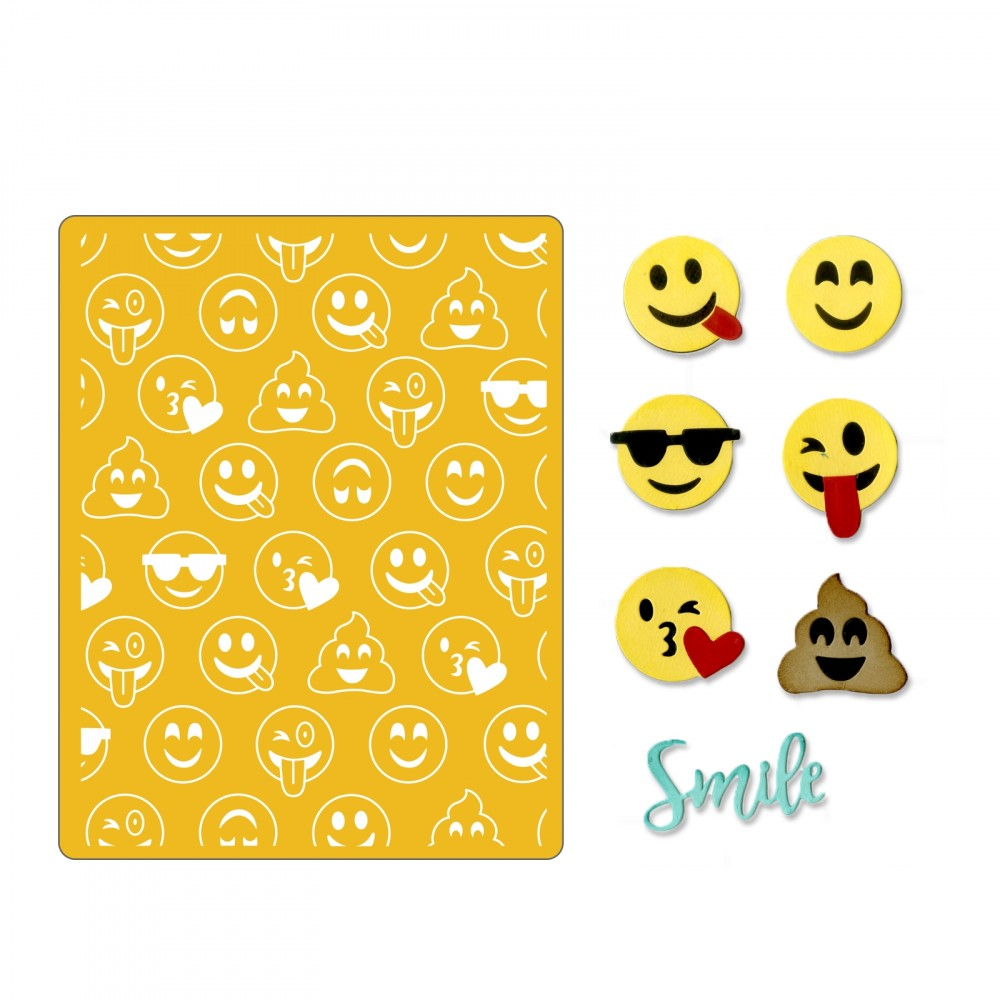 Sizzix Smile Emojis에 대한 이미지 검색결과