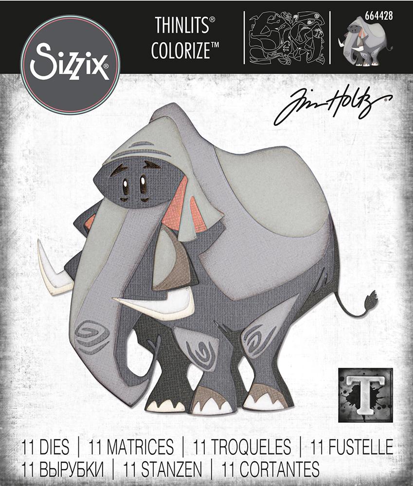 Sizzix SIZZIX THINLITS Dies Toyland Colorize Tim Holtz