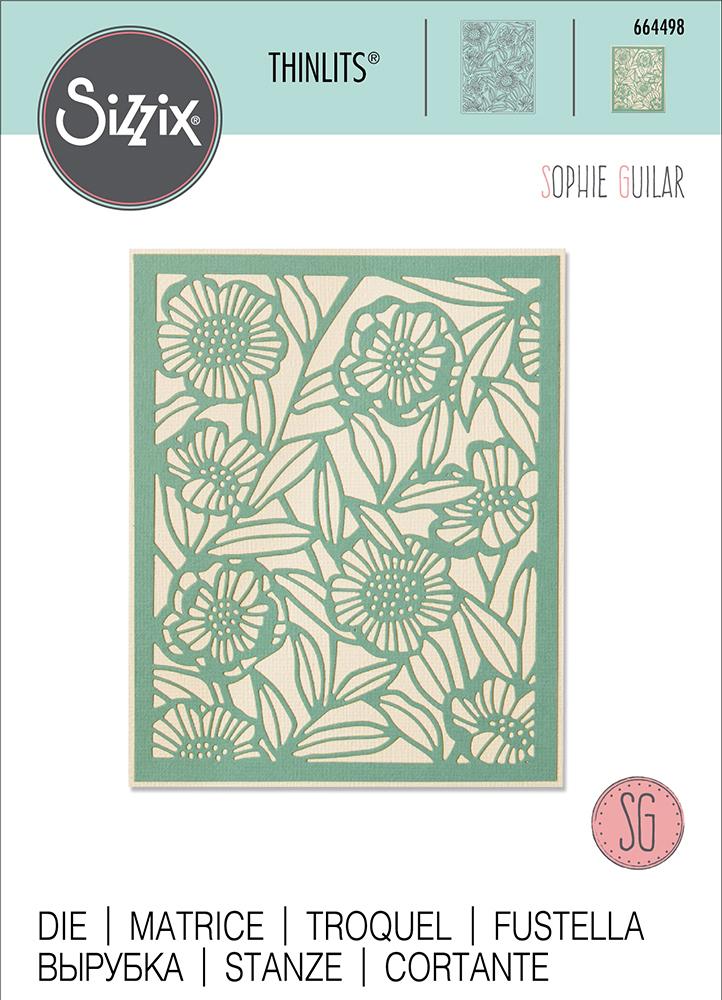 Sizzix Thinlits Die 664498 Minimal Foliage by Sophie Guilar