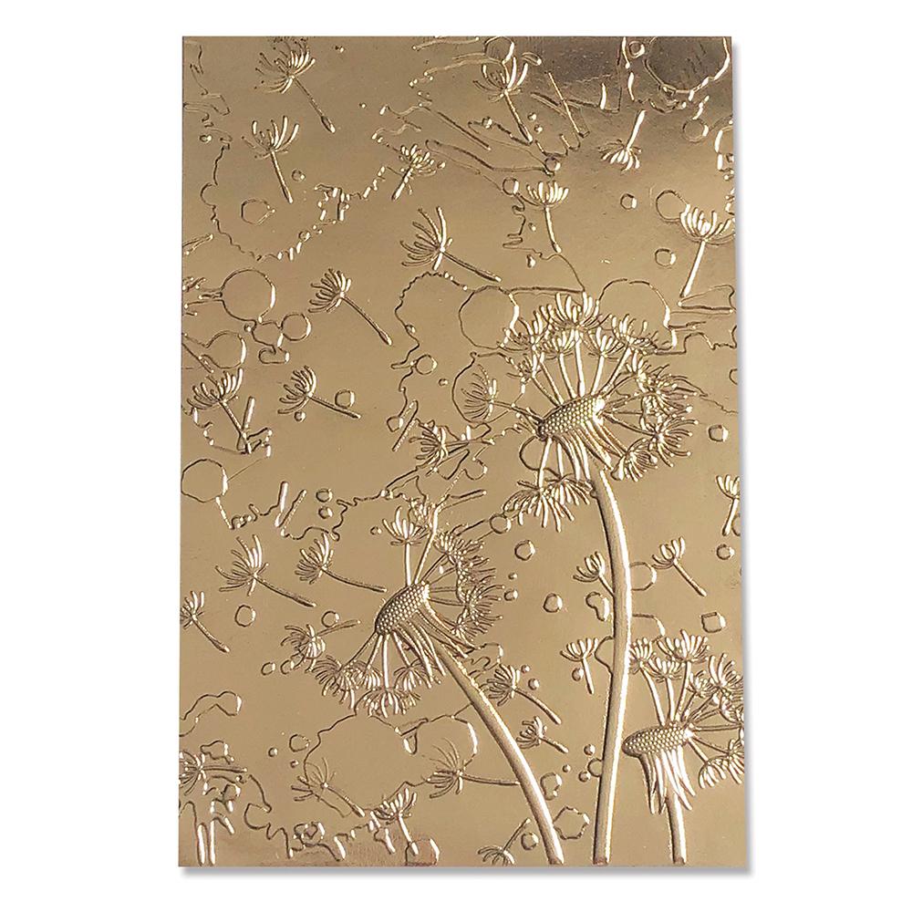 Sizzix 664505 Pr/ägeschablone 3-D Impresslits Ornament von Kath Breen