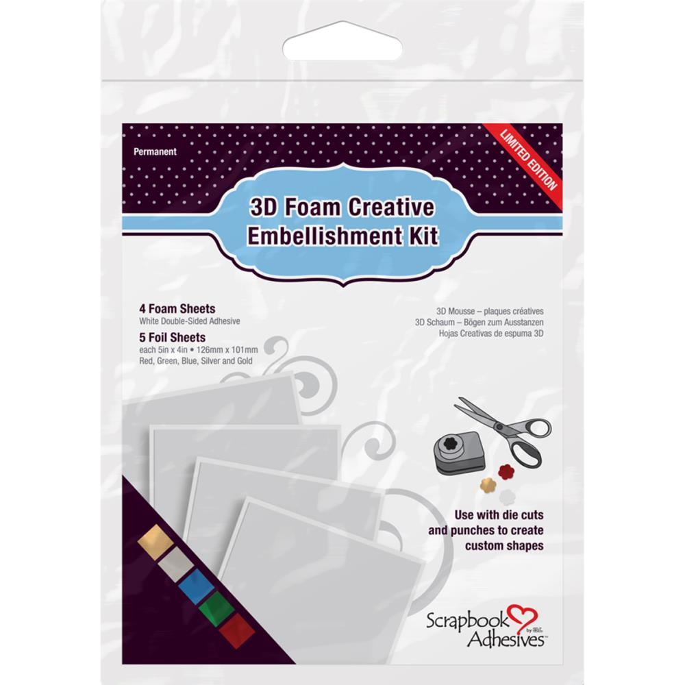 Scrapbook Adhesives by 3L Creative Embellishment Kit