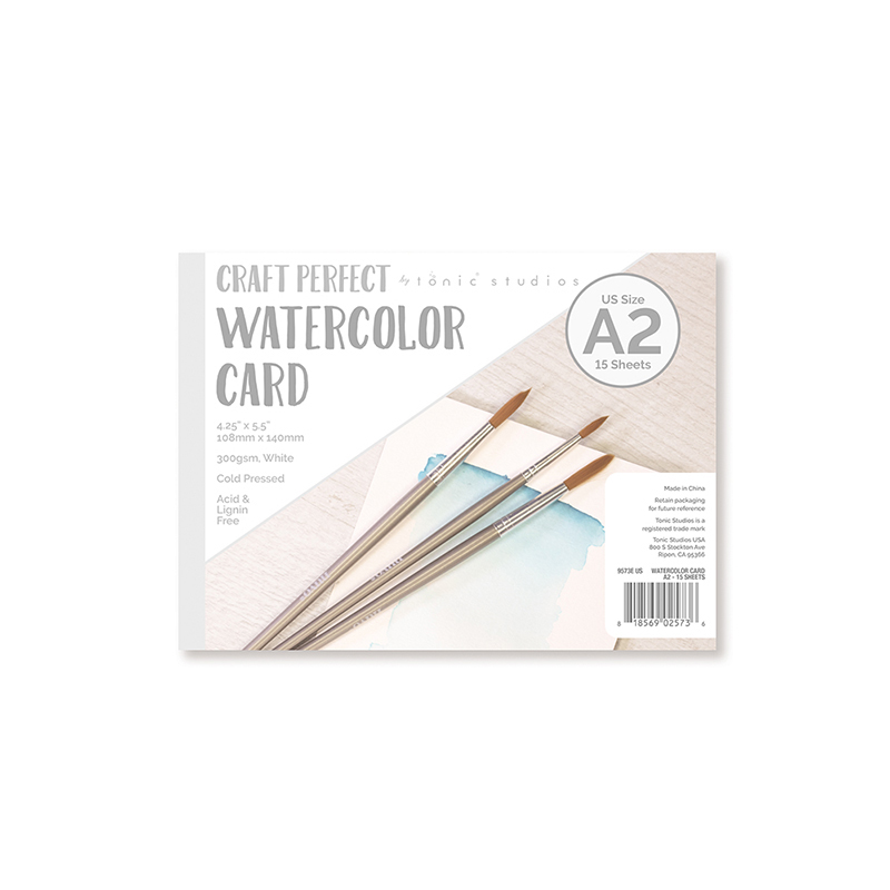 Tonic Studios Craft Perfect Watercolor A2 Cards