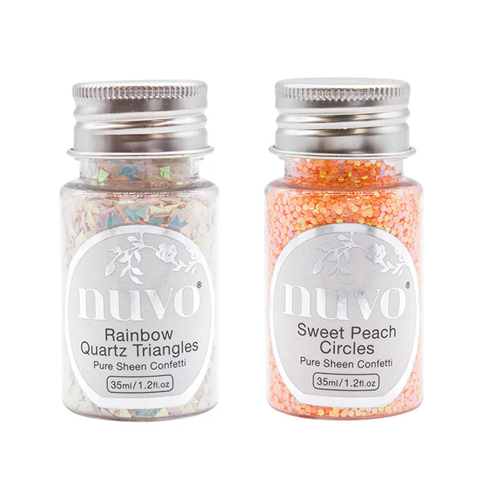 Nuvo Pure Sheen Dream in Color 2 pc Confetti Kit
