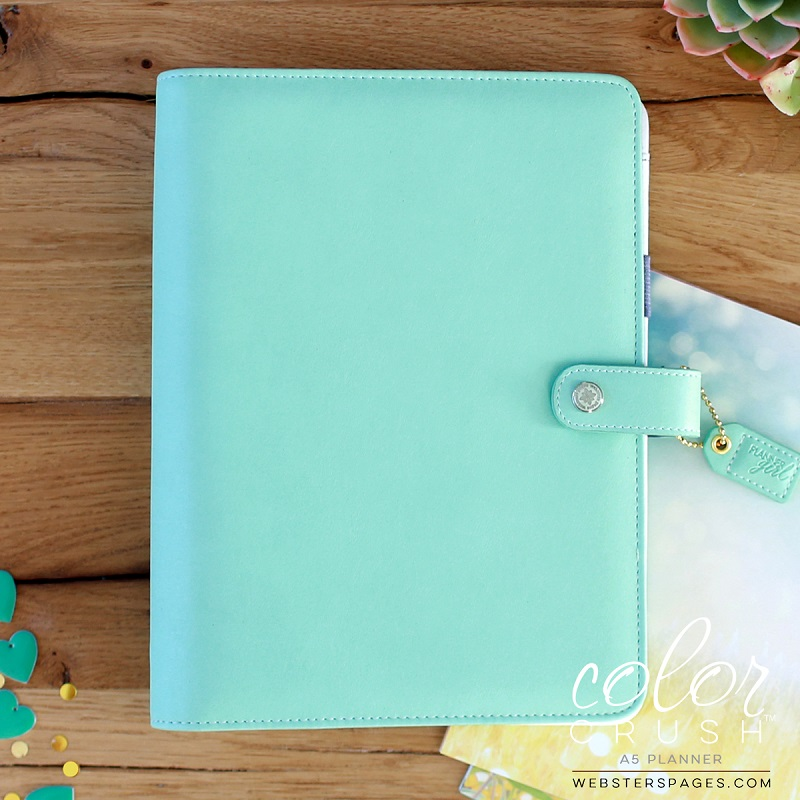 photo about A5 Planner Binder called Websters Web pages Shade Crush Mint A5 Planner