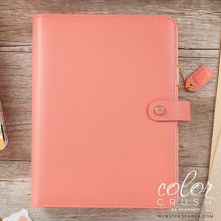 Websters Pages Color Crush Pretty Pink A5 Planner Kit