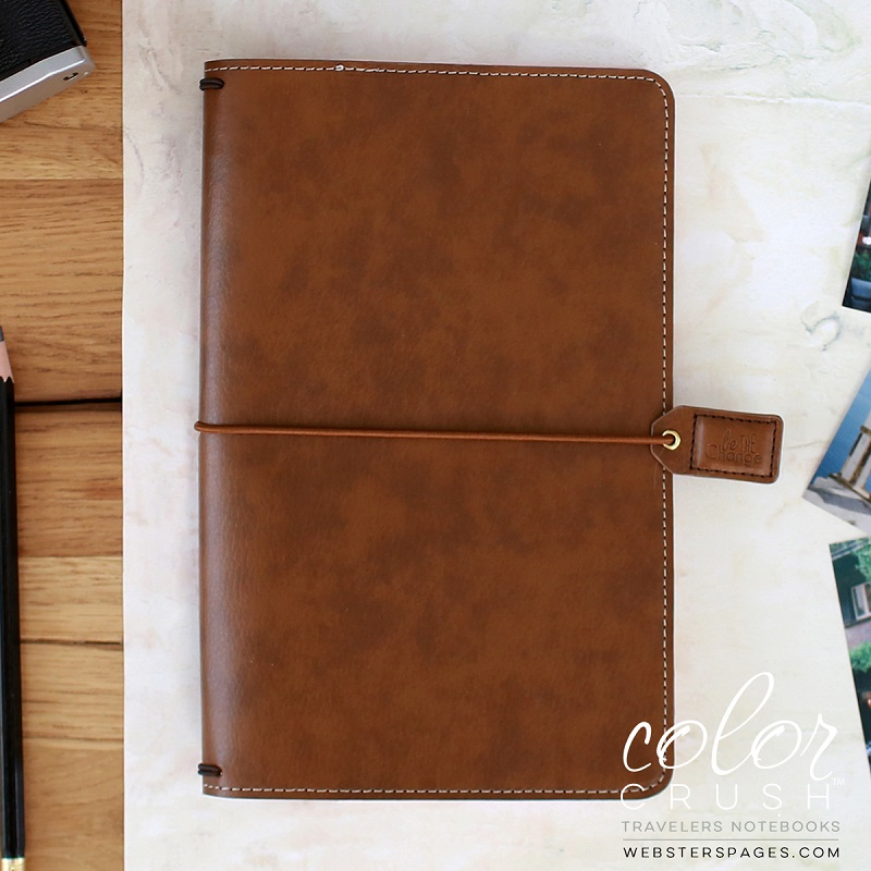 Websters Pages Color Crush Walnut Travelers Planner