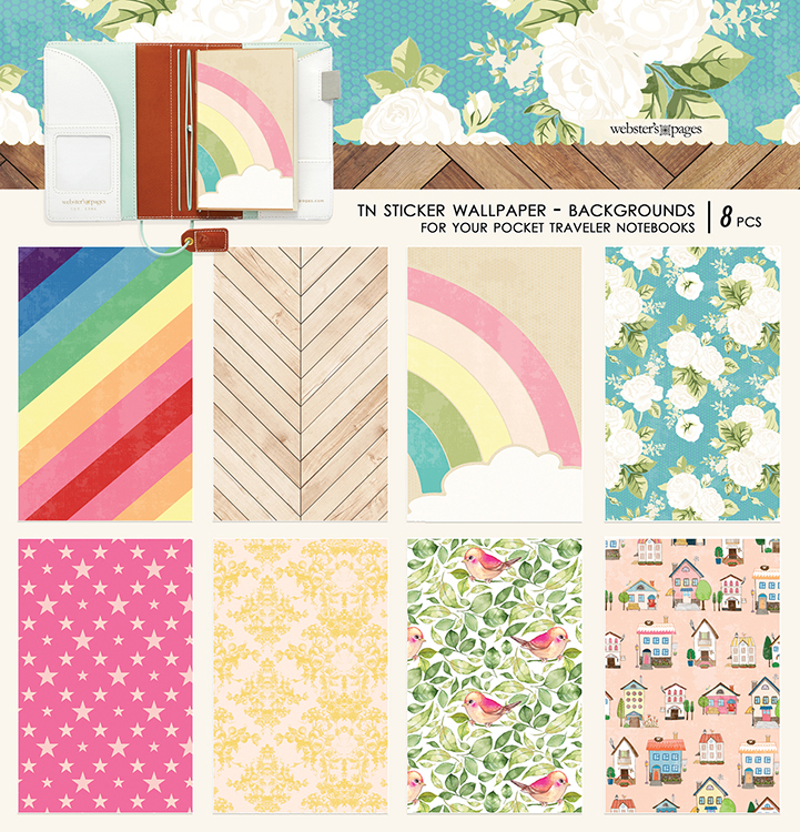 Websters Pages Changing Colors Backgrounds Sticker Wallpaper Pocket