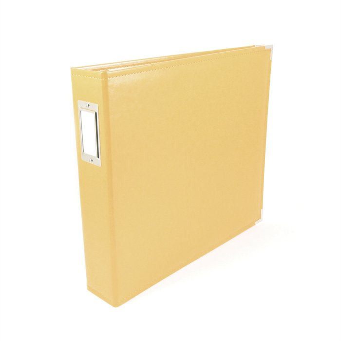 We R Memory Keepers Buttercup 12 X 12 Leather Album