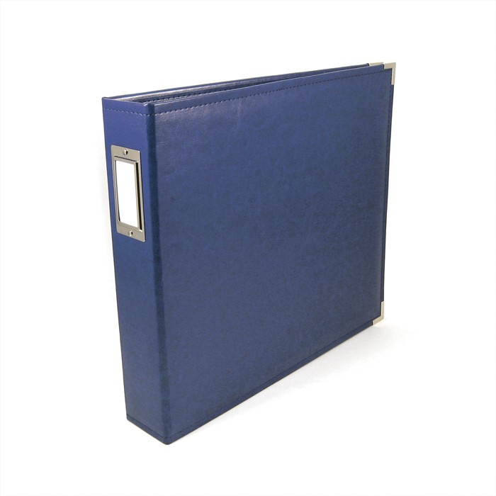 We R Memory Keepers Cobalt 12 X 12 Leather Album