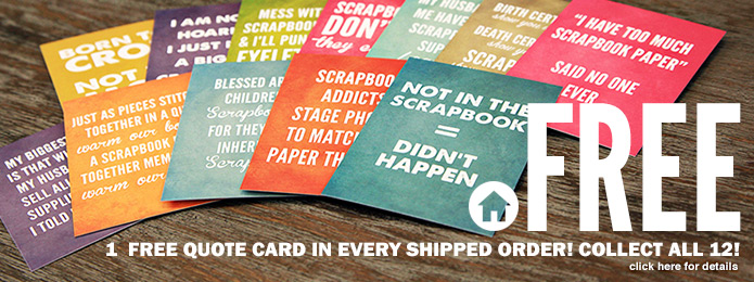 Free Quote Cards in Every Order