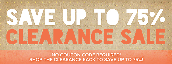 Clearance Kraft Up to 75% OFF