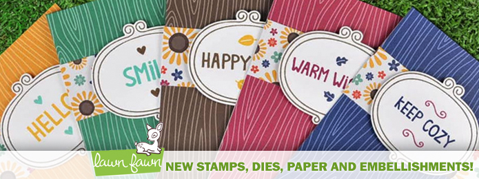 Lawn Fawn Stamps,Dies,Paper,more