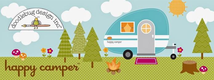 Doodlebug Happy Camper