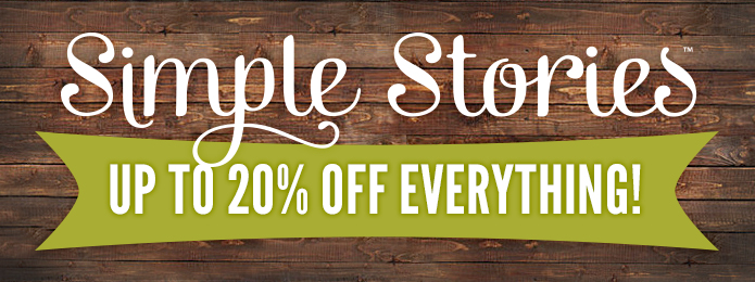 Simple Stories up to 20 OFF xmas