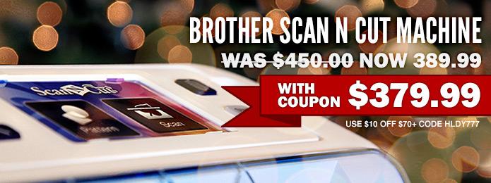 Brother Scan N Cut 12 days