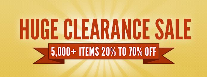 Huge Clearance Sale - yellow