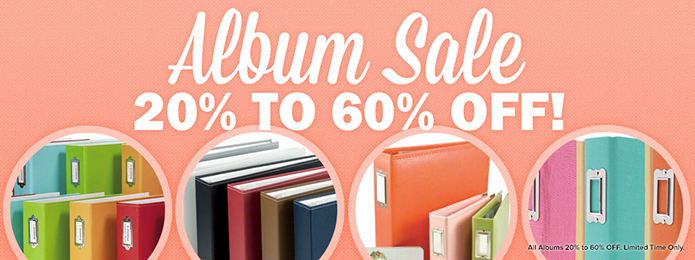 Album Sale 20 - 60 off