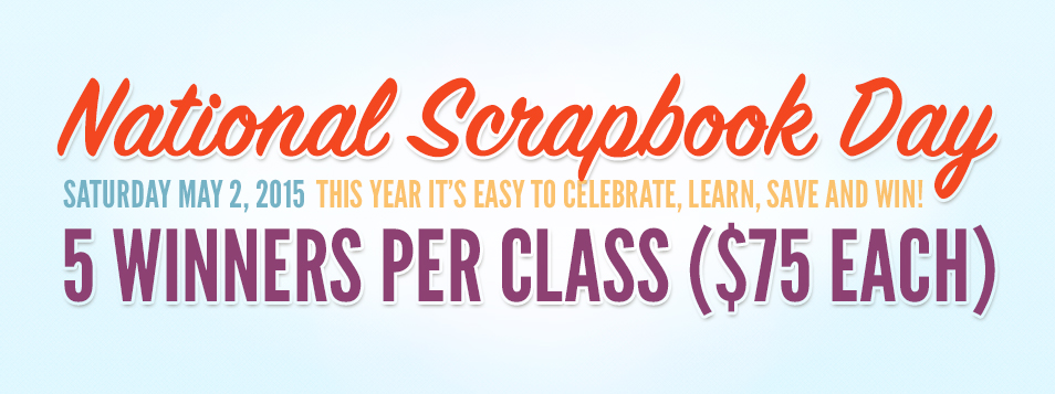 NSD 2015 Scrapbookcom Blog Classes