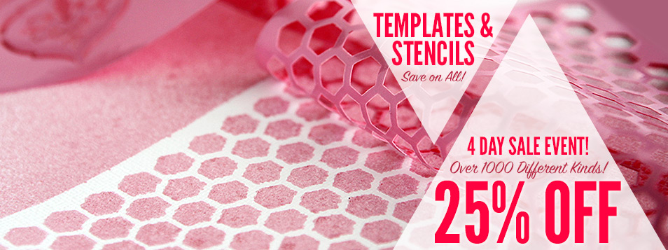 All Templates and Stencils ON SALE