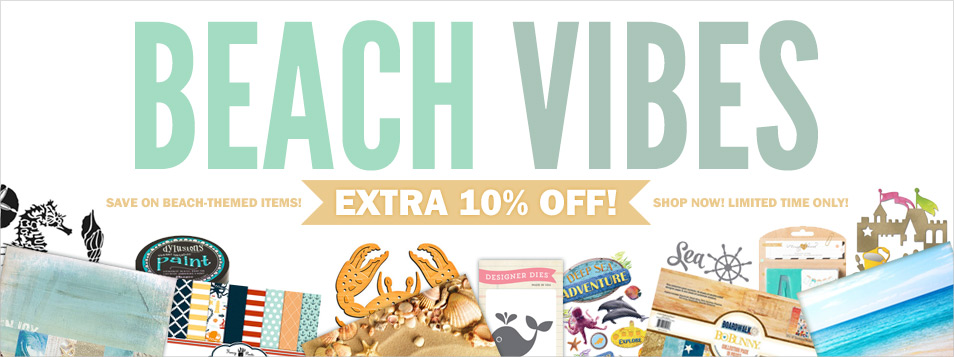Extra 10% off Beach Themed Items