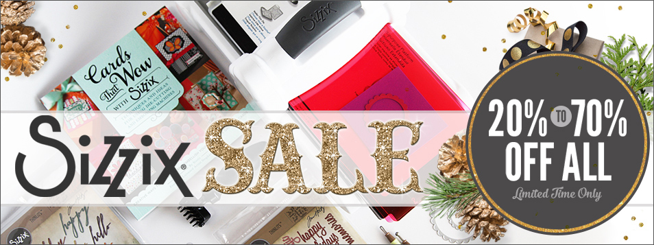 Sizzix Sale Thanksgiving Up to 70% OFF